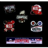 San Francisco Giants 2014 World Series Champions Limited Edition Lapel Pin Collection